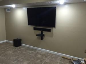 TV-Mounting